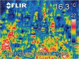 Температура ґрунту при No-Till: знімки тепловізорної камери