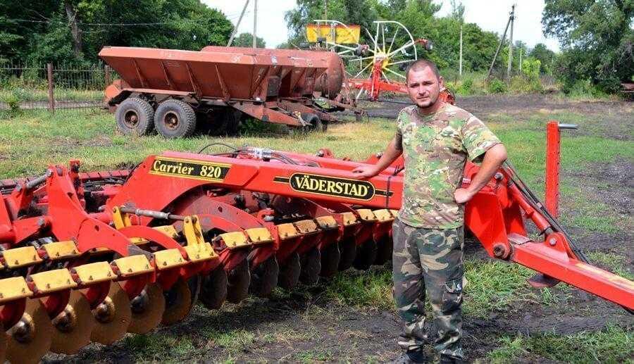 Євген Свидло, головний інженер господарства