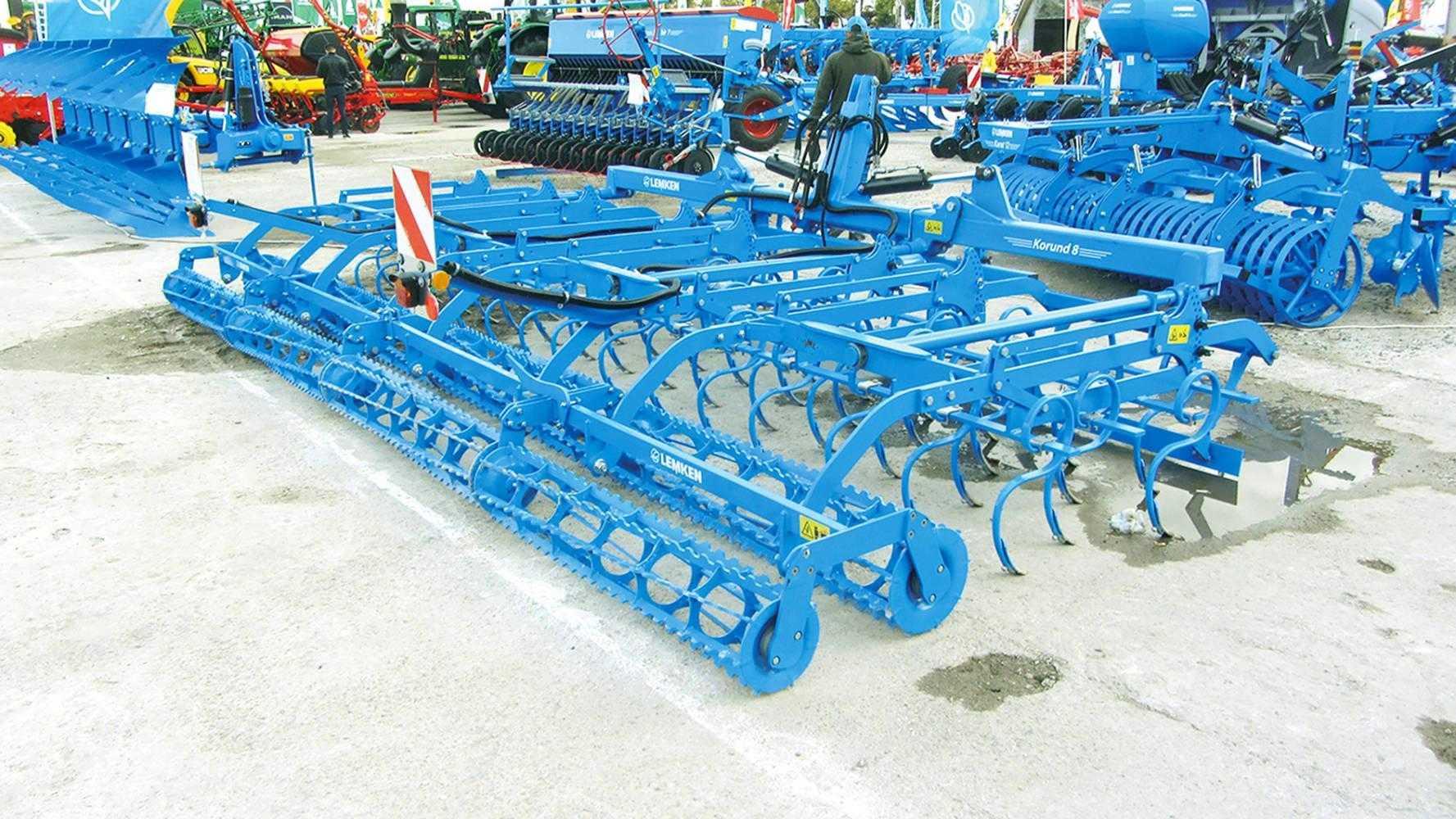 Агрегат передпосівного обробітку ґрунту Korund 8