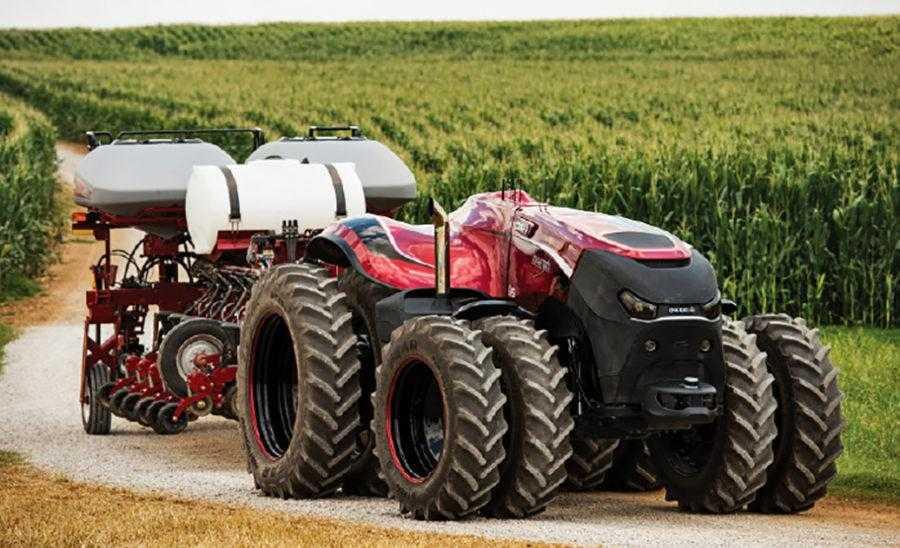 Автономний трактор Case IH